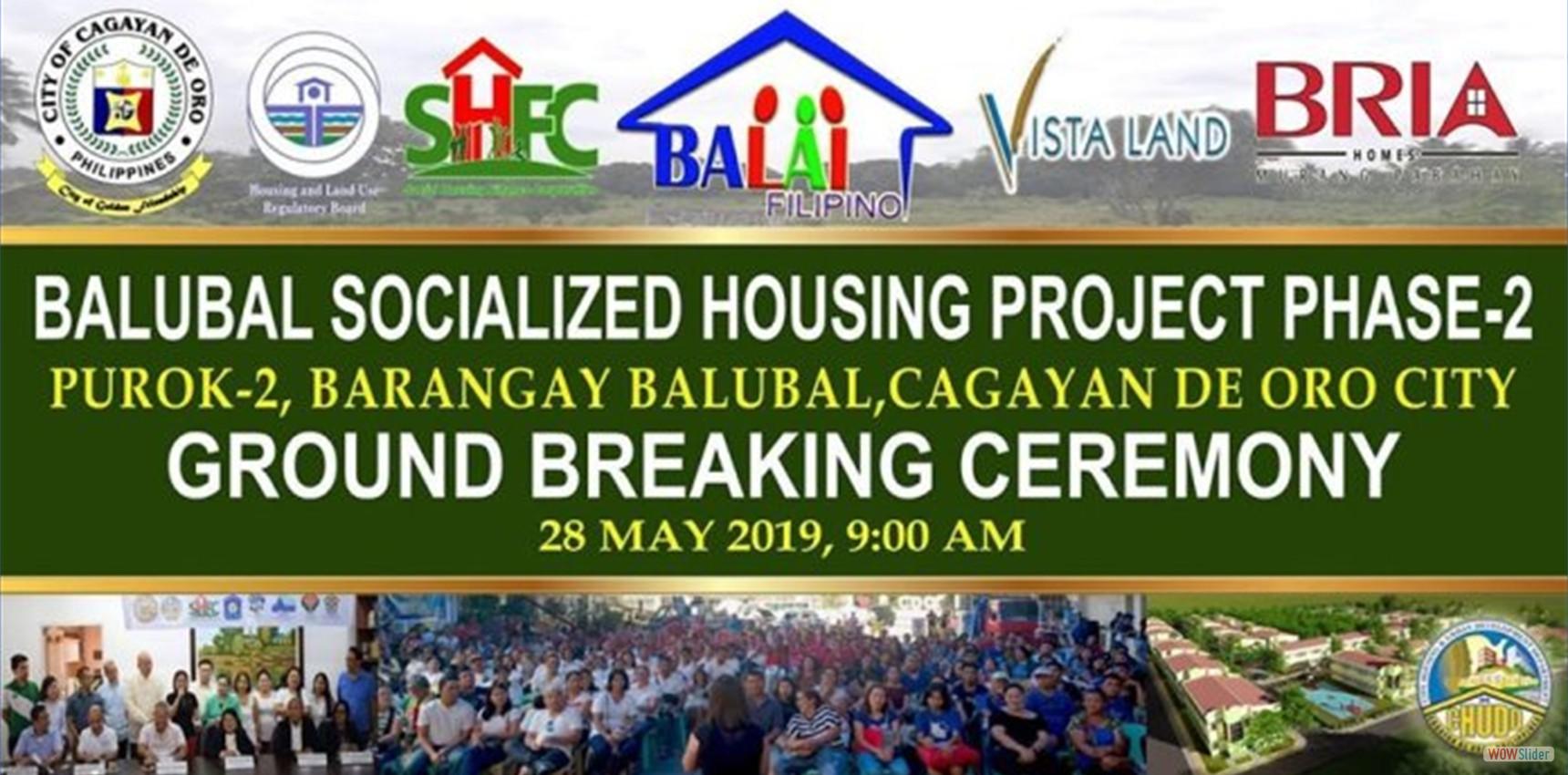 Balubal Groundbreaking